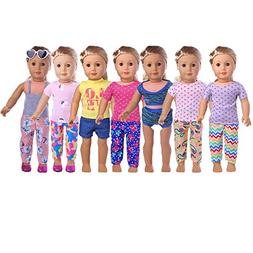 American Girl Doll Clothes Makeup Wardrobe Makeover- 7 Compl
