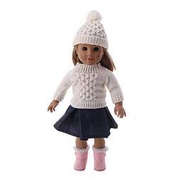 Choosebuy❤️ 18 Inch American Girl Doll Winter Warm Sweat