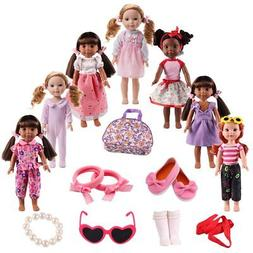 American Girl Doll Clothes Accessories for 14inch 14.5 inch