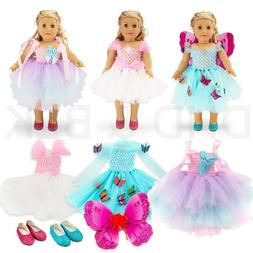 """For American Girl 18"""" inch Dolls Clothes Outfit Fairy Prin"""
