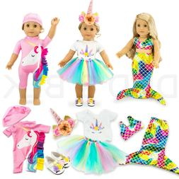 """For American Girl 18"""" inch Dolls Clothes Outfit Mermaid Un"""