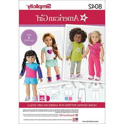 Simplicity Patterns American Girl Doll Clothes for 18 Inch D