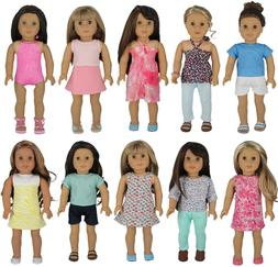 American Girl Doll Clothes - Wardrobe Makeover, 10 Complete