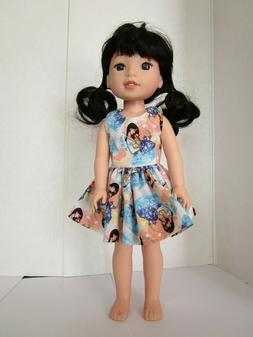 AMERICAN MADE DOLL CLOTHES FOR GIRL DOLL 14.5 INCH  WELLIE W