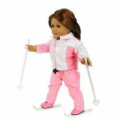 American Girl Doll Ski Outfit Clothes For 18 Inch Dolls Hand