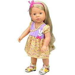 AMOFINY New Pretty Small Rabbit Decoration Doll Dresses Girl