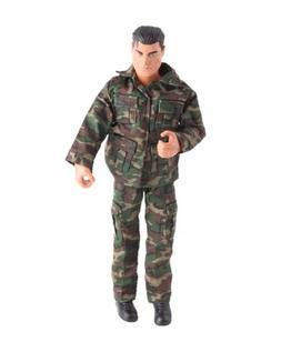 Studio one Army Camouflage Uniform Outfit for Ken doll Cloth