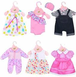 Baby Alive Cothes ebuddy 6 Sets Doll Clothes Outfits for 14