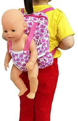XADP Baby Doll Carrier Backpack Doll Accessories, Storage fo