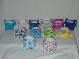 Homemade Baby Doll Cloth Diaper Design Waists Adjustable fro