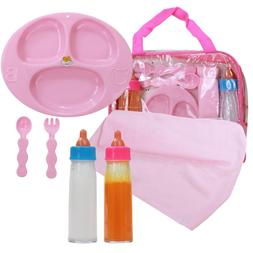 baby doll feeding care set magic juice