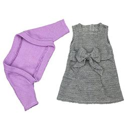 Shero 12-16 Inches Baby Doll's Sweater & Dress Suit