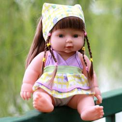 Baby Doll Toddler Boy Toy Lifelike Kid Parents-to-be Practic
