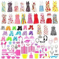 Barwa Barbie clothes Barbie dress Barbie doll for clothes Ri