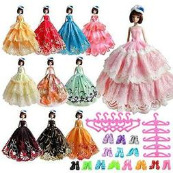 Barwa Barbie doll clothes and accessories EU CE-EN 71 certif
