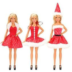 Barwa Barbie Doll Clothes Rika-chan Christmas Gifts 3 tails