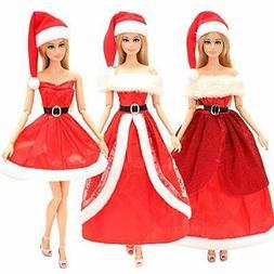 Barwa Barbie Doll Clothes Rika-Chan Jenny Christmas Present