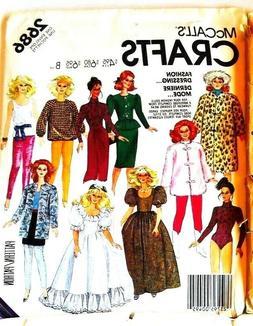 U PICK! VTG BARBIE DOLL CLOTHES Sew Pattern ~ KEN GI JOE DON