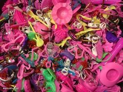 Tacie's Boutique  pcs. of Barbie Doll Accessories~Shoes, Hat