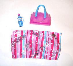 Barbie Doll Sized 3 Miniature Accessories For Barbie Dolls a