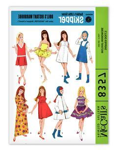 Barbie Doll Skipper Sewing Pattern McCalls 8357 Tutu Dress C