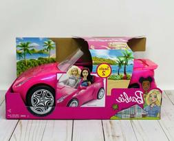 Mattel Barbie Glam Convertible Doll Vehicle, Barbie On The F