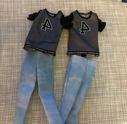 Barbie KEN Doll Fashionista Clothing Lot Shirts Pants 2 Outf