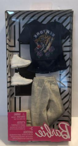 Barbie KEN Fashion Pack New York T-Shirt & Joggers Pants Hig