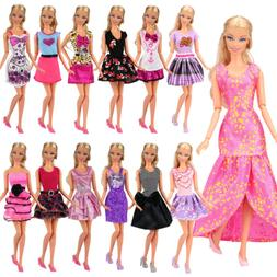 Barwa Fashion Mini Dresses Clothes Outfits Sets for Barbie D