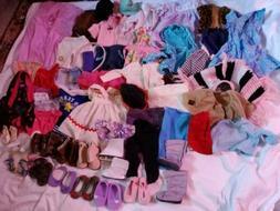American Girl Battat Doll Clothing Shoes Lot
