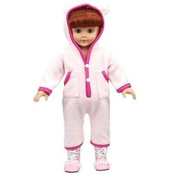 Shero 12 - 16 Inches Bear Rompers Doll's Clothes Fits Americ