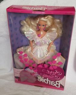 Beautiful Blonde Secret Hearts Barbie 1992 NRFB by Mattel
