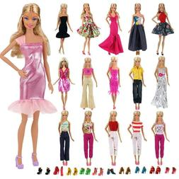 Best Fashion Casual Wear Clothes Outfit Handmade for Barbie