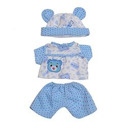 AOFUL 18 Inches Bitty Baby Doll's Clothes
