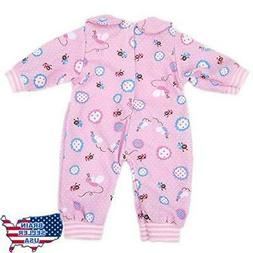 Bitty Baby Doll Clothes, AOFUL Cute Lovely Jumpsuit pajamas
