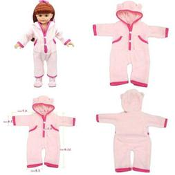 AOFUL Bitty Baby Doll Clothes, Mini Custom Design Pajamas Ou