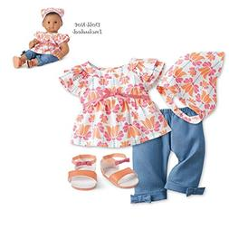 """American girl Bitty Baby Fun in the Sun Outfit for 15"""" Dolls"""