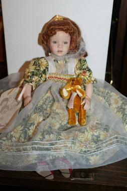 """Pauline Bjonness-Jacobsen Porcelain & Cloth Doll """"Keely Emma"""