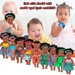 Black Baby Doll Girl Lifelike Reborn Toddler Dolls African A