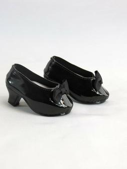 "Black High Heels Fits 18"" American Girl Doll Clothes Shoes"