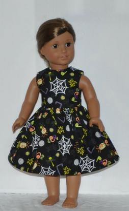 Black Spooky Doll Dress Clothes Fits American Girl Dolls