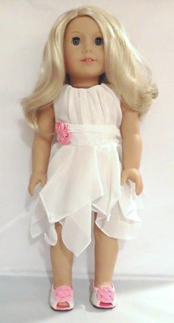 Arianna Blissful Garden Dress Fits 18 inch American Girl Dol