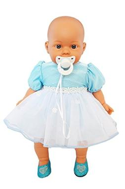 My Brittany's Blue Easter Dress for Bitty Baby and Bitty Twi