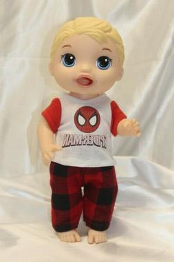 Boy Doll Clothes fits 12 inch Baby Alive Dolls T-Shirt Pants