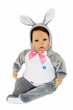 Brittany's My Grey Easter Bunny Outfit for 20 Inch Dolls-Dol