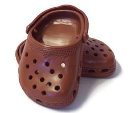 Brown Duc Shoes fits 18 inch American Girl Doll Clothes