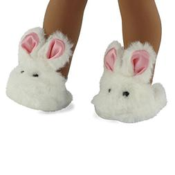 18 Inch Doll Clothes/clothing Bunny Slippers Fits American G