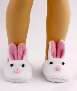 """14.5/"""" Doll Shoes Teddy Bear Slippers fits 14.5/"""" Dolls Bear Slippers"""