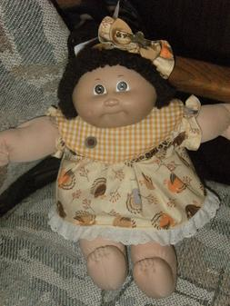 """Cabbage Patch 16"""" Doll Clothes/Outfit~Thanksgiving Turkey Dr"""