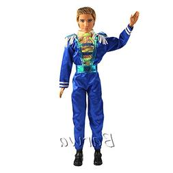 Barwa Fashion Casual Wear Clothes Blue Jumpsuit with Shoes f